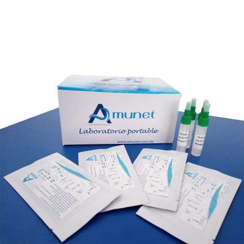 prueba rápida de rotavirus y adenovirus